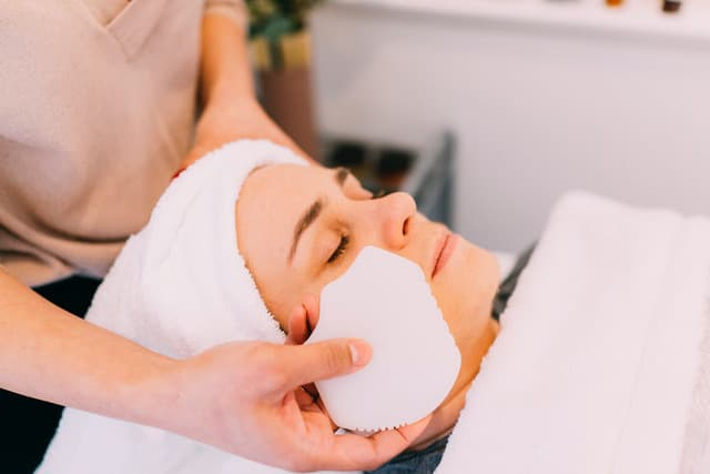 Facial treatment Port Moody